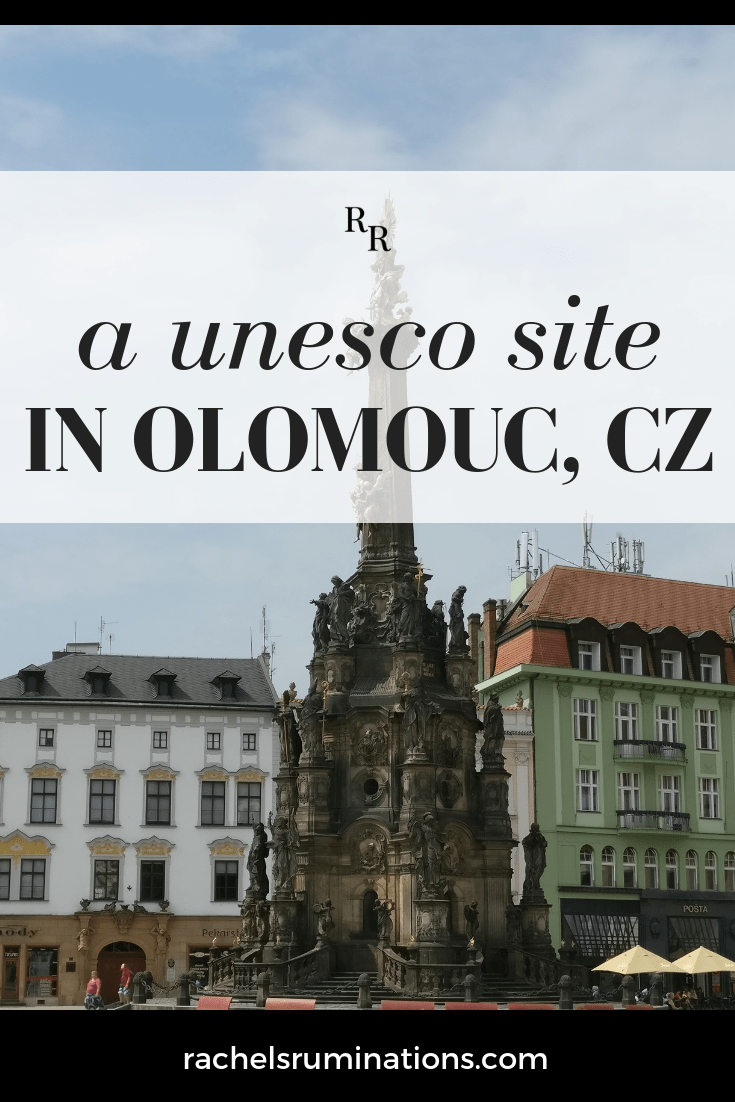 The Holy Trinity Column, a masterpiece of the Moravian Baroque style, is a UNESCO site in Olomouc, a small town in the eastern end of the Czech Republic. #baroqueart #unescoheritagesite #olomouc #czechia #czechrepublic #visitcz #c2cgroup via @rachelsruminations