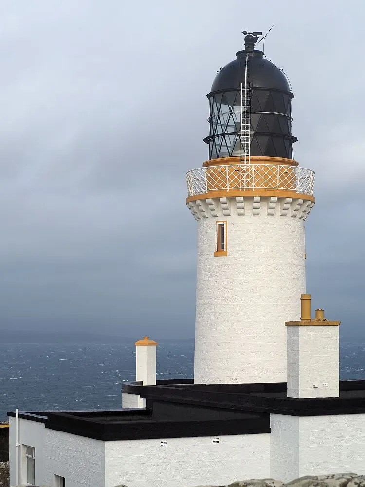 Dunnet Point lighthouse