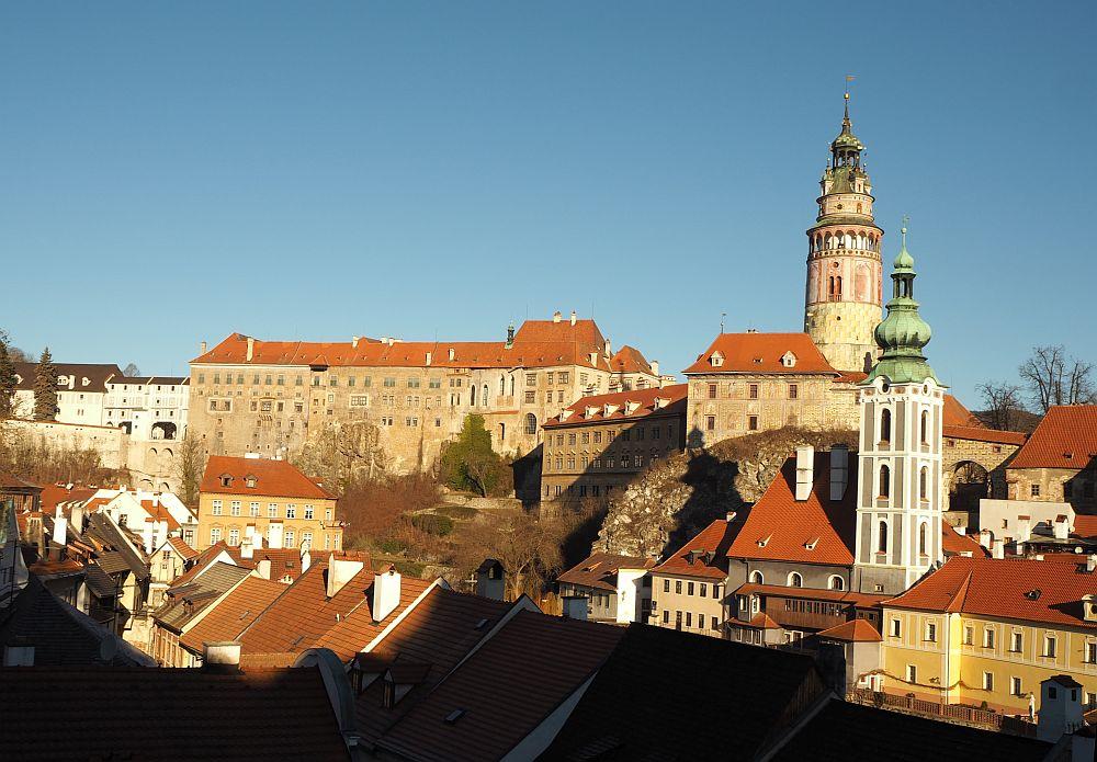 Visiting Cesky Krumlov Castle and UNESCO site