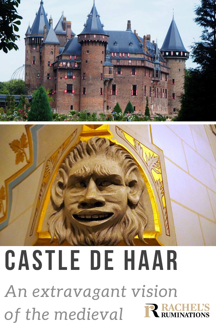 No truly medieval castle ever looked this over-the-top. In fact, Castle de Haar is a 19th century idea of what the ideal medieval castle should be. That doesn't mean it's not worth visiting, though! #kasteeldehaar #castledehaar #netherlands #holland #castle #rachelsruminations via @rachelsruminations