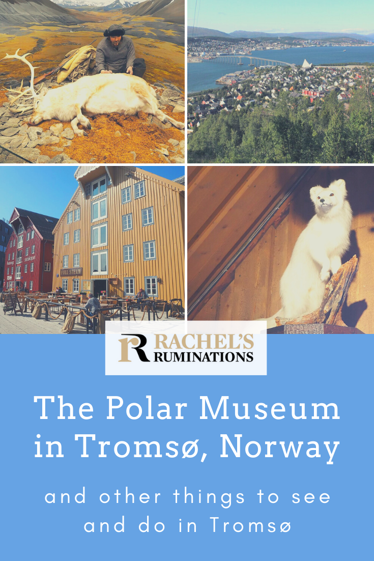 A review of the Polar Museum, Tromso, Norway: a great place to learn about life in the far north and to hear exciting stories about polar exploration. #NorthPole #Tromso #ArcticCircle #Norway #PolarMuseum via @rachelsruminations