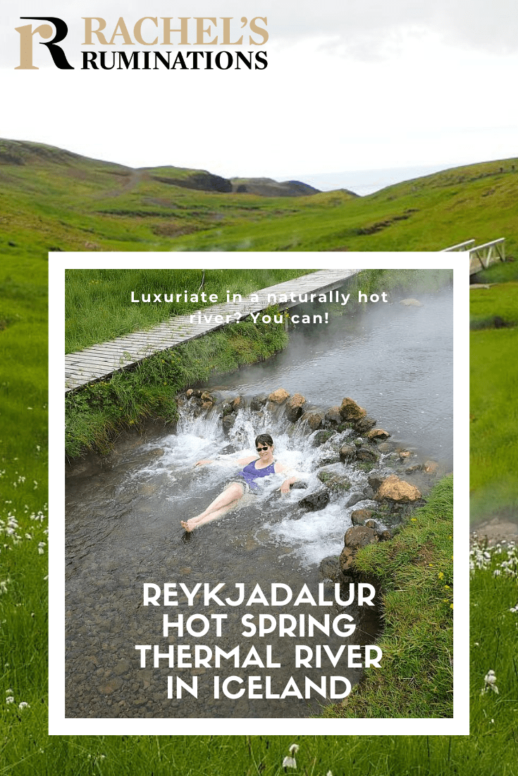 Reykjadalur hot spring thermal river is without a doubt worth the hike. How often do you get a chance to experience a hot river? #Reykjadalur #Iceland #hotbath #southiceland via @rachelsruminations