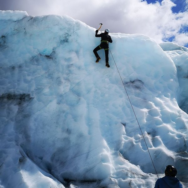 Troll Expeditions Iceland glacier hike