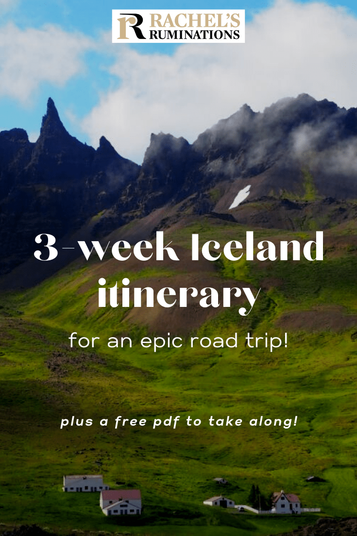This comprehensive, extremely detailed 3-week Iceland itinerary is all you need for the best Iceland road trip! #iceland #itinerary #roadtrip #ringroad via @rachelsruminations
