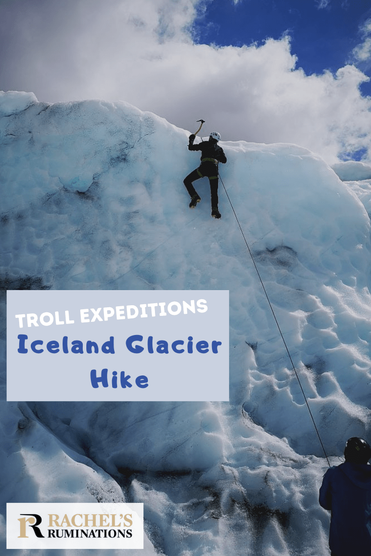 The Troll Expeditions Iceland glacier hike was, for my husband, a highlight of our trip around Iceland. Read here about his experience, including a first try at climbing an ice wall. trollexpeditions   glacier hike   Iceland   glaciers via @rachelsruminations
