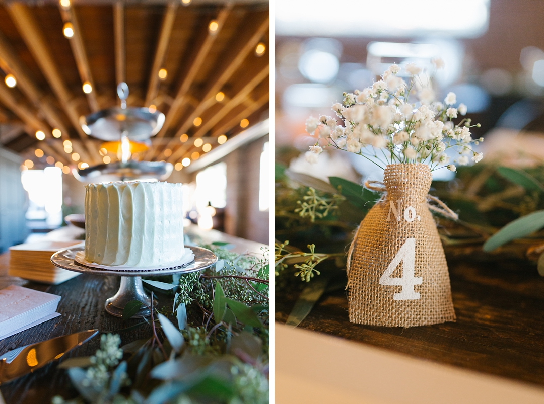 details of ceremony decor at smoky hollow studios in el segundo