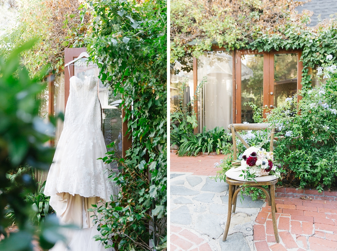 essense of australia wedding gown at inn of the seventh ray wedding