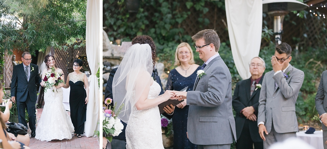 inn of the seventh ray wedding ceremony