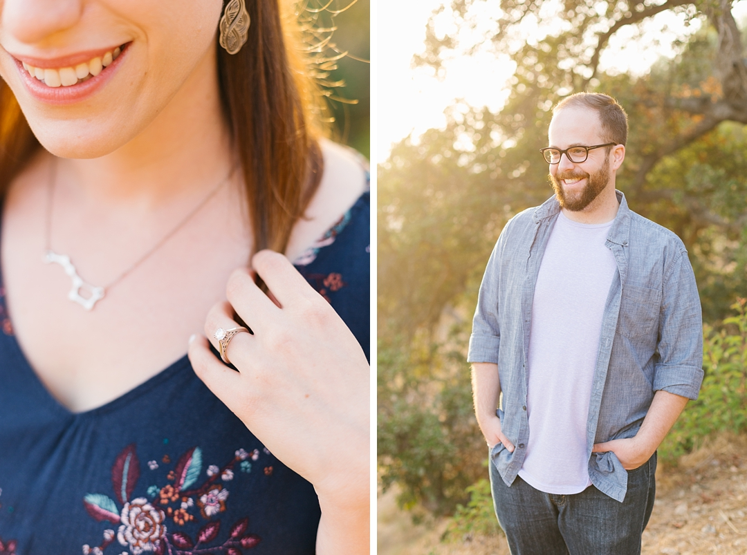 griffith park engagement session rachel and anthony