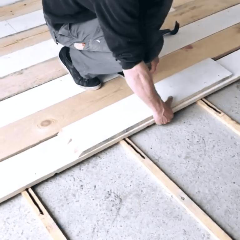 coller plancher