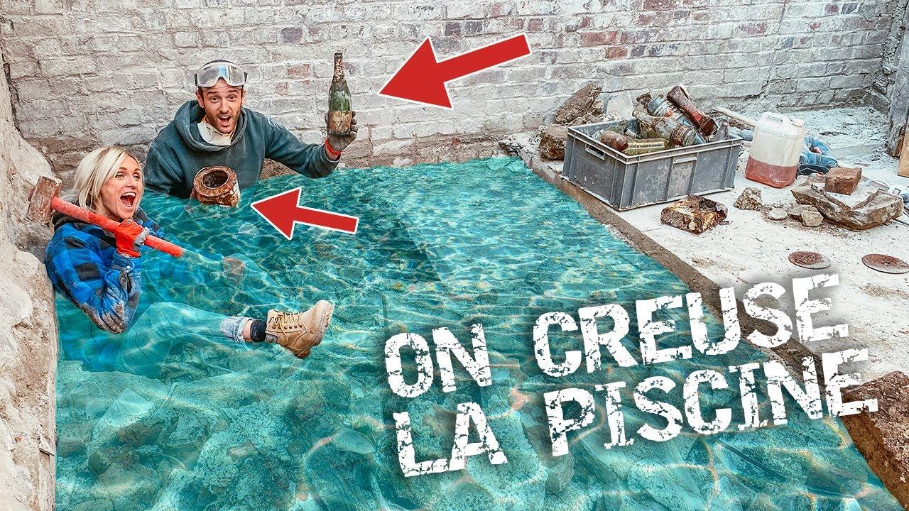 creuser piscine soi meme