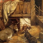 Constable_Donkeys_in_the_stable