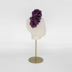 Purple grazia petal headdress