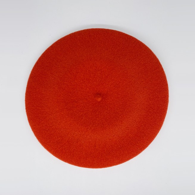 Burnt orange beret