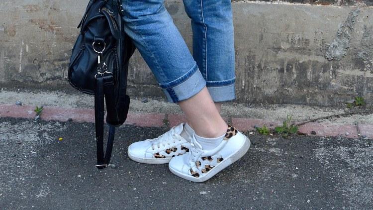 baskets leopard jeans boyfriend rachel vdw blog mode lille