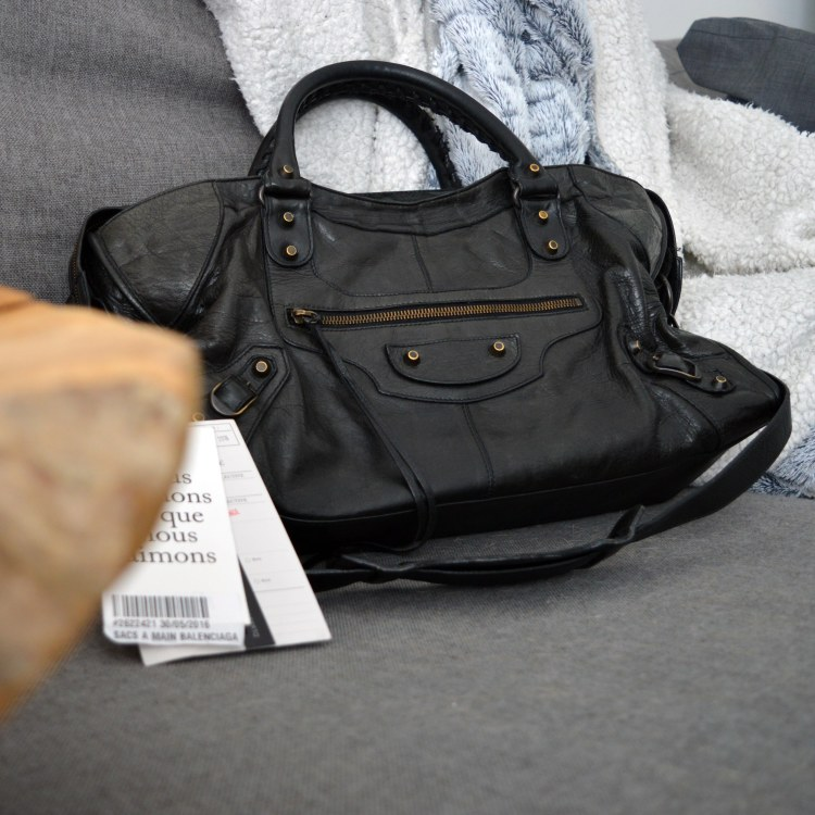 balenciaga city noir rachel vdw blog mode lille