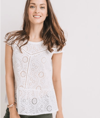 blouse broderie blanche promod rachel vdw blog mode lille