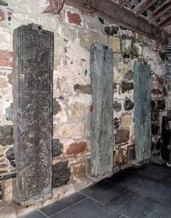 Grave slabs