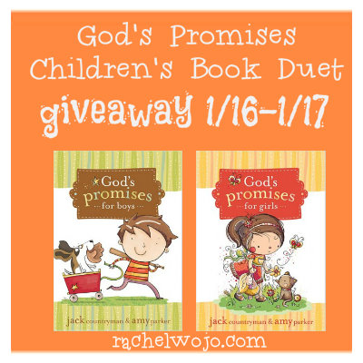 God's Promises Children's Books Giveaway - RachelWojo.com