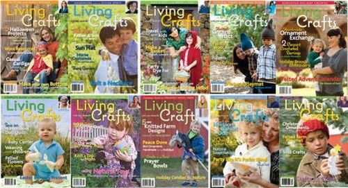 Living Crafts 10 covers--500 wide
