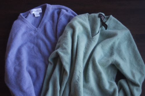 Homemade Cashmere Long Johns | Clean : : the LuSa Organics Blog