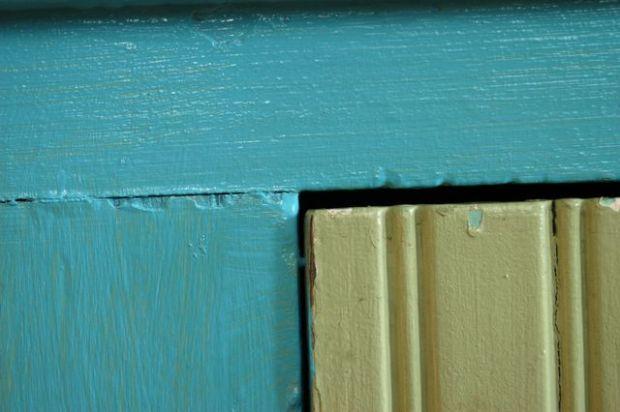 A little paint. | Clean.