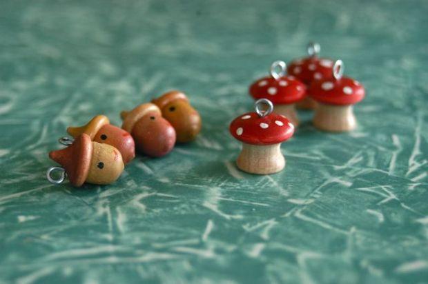 Hand-painted zipper pulls. | Clean : : the LuSa Organics Blog