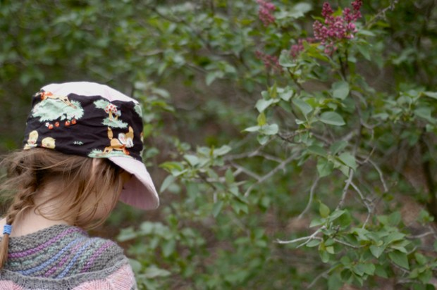 Free sunhat pattern. {Clean. the LuSa Organics Blog}