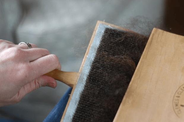 From sheep to yarn | Clean. www.lusaorganics.typepad.com