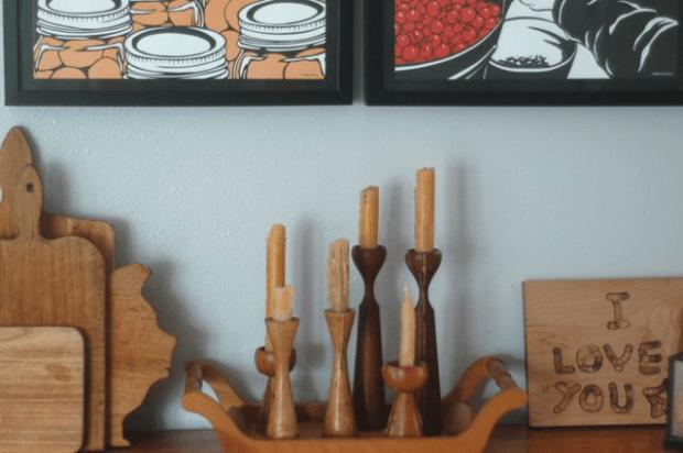 $10 kitchen makeover | Clean. www.lusaorganics.typepad.com