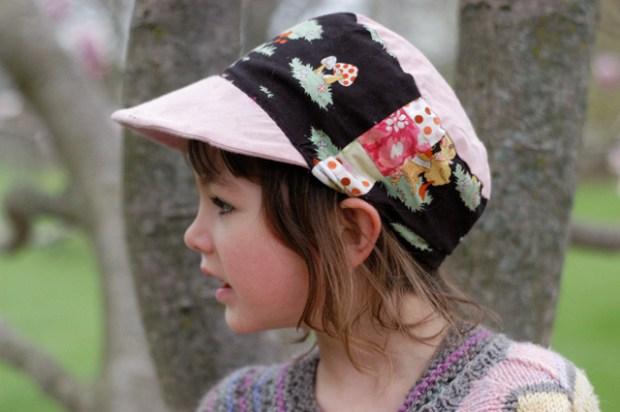 Free sunhat pattern. {Clean. the LuSa Organics Blog}