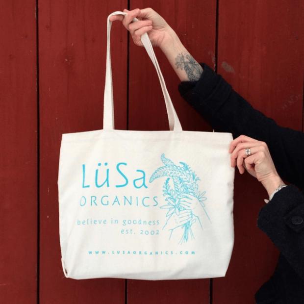 LuSa Organics Market Tote