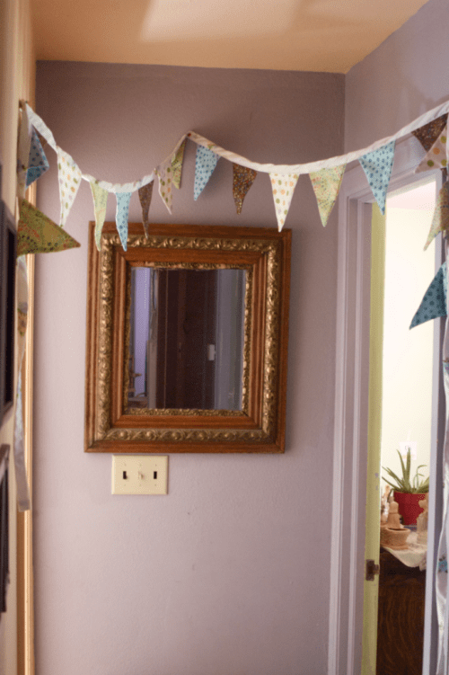 How to sew a bunting : : a simple tutorial