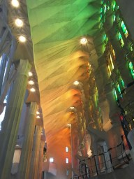 This light is entirely from the stained glass