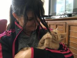 Kristin & Sue's new kitten!