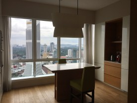 Modern kitchen (with a view)