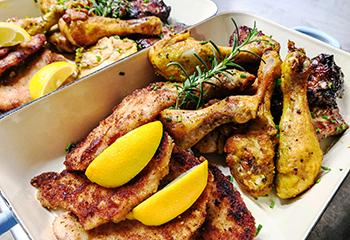 Kulinarisches für Ihre Feier bei uns in der RachKuchl am Vomperberg