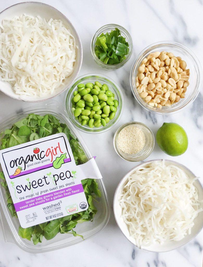 Vegan Pad Thai Salad