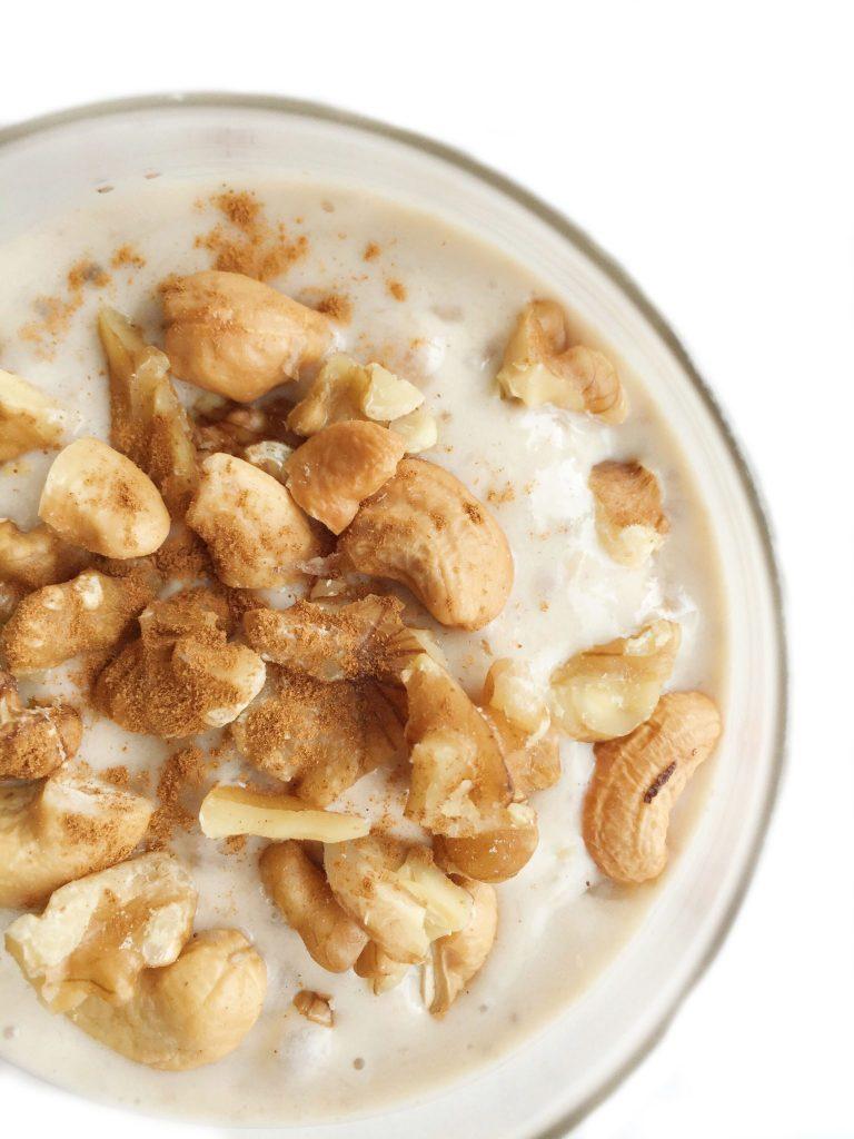 Vegan Banana Nut Ice Cream