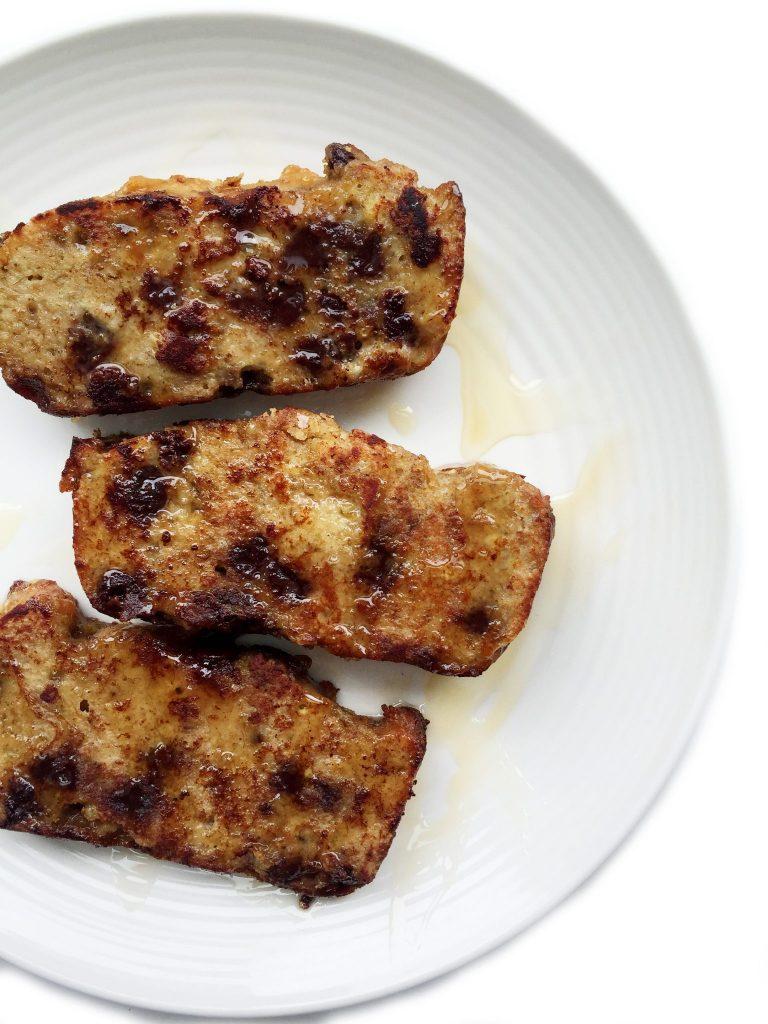Paleo Banana Bread French Toast by rachLmansfield