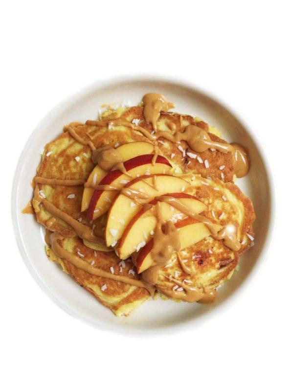 5-ingredient Paleo Nectarine Pancake