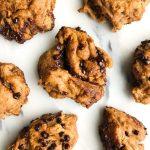 Dreamy & Messy Dark Chocolate Cinnamon Buns that are gluten & yeast-free, so easy to make!