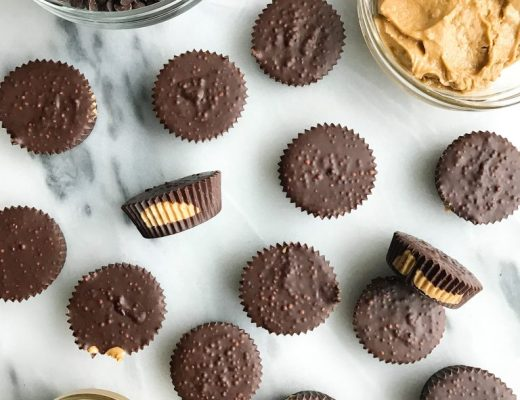 Crispy Chocolate Nutty Cups that are vegan and gluten-free!