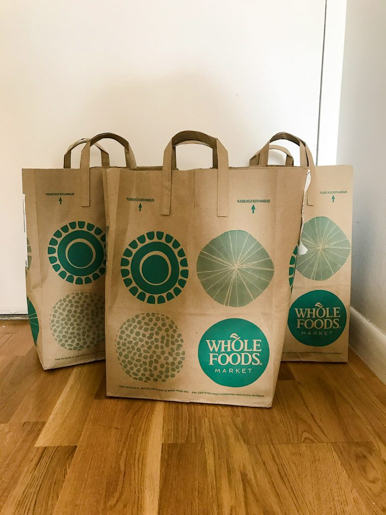 Whole Foods + Instacart review with meal prep tips