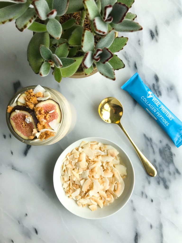 3-minute Collagen Coconut Milk made with 3 simple ingredients for an easy coconut milk!