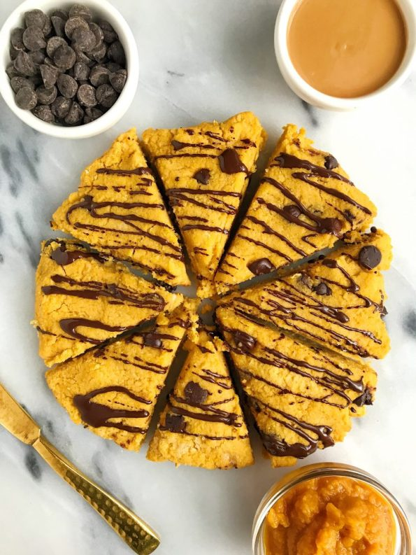 Paleo Chocolate Chip Sweet Potato Scones