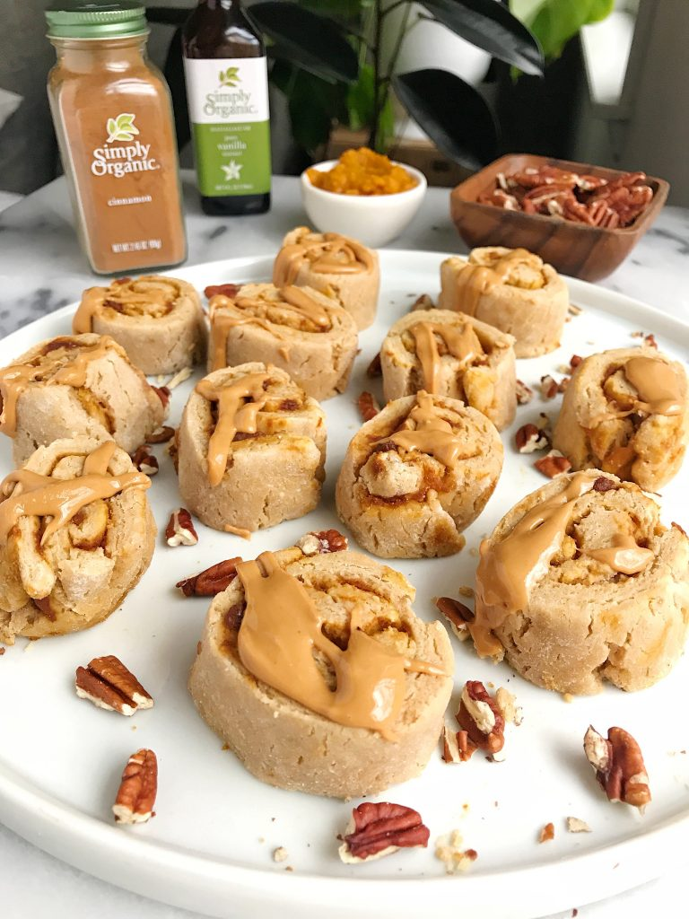 Mini Sweet Potato Cinnamon Rolls (vegan + gluten-free)
