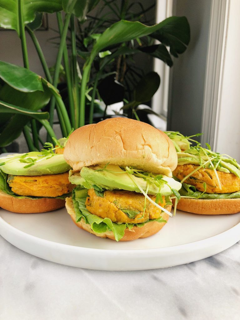 Whole30 Veggie Burgers