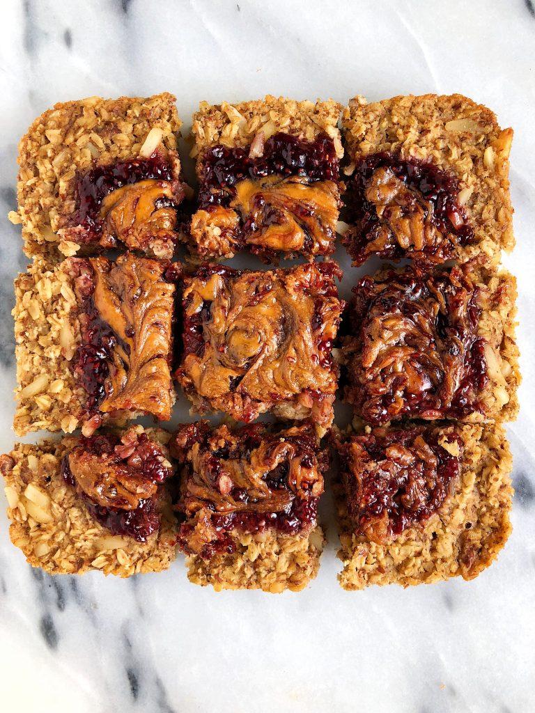 Baked PB&J Oatmeal (vegan + gluten-free) | rach L mansfield | Bloglovin'