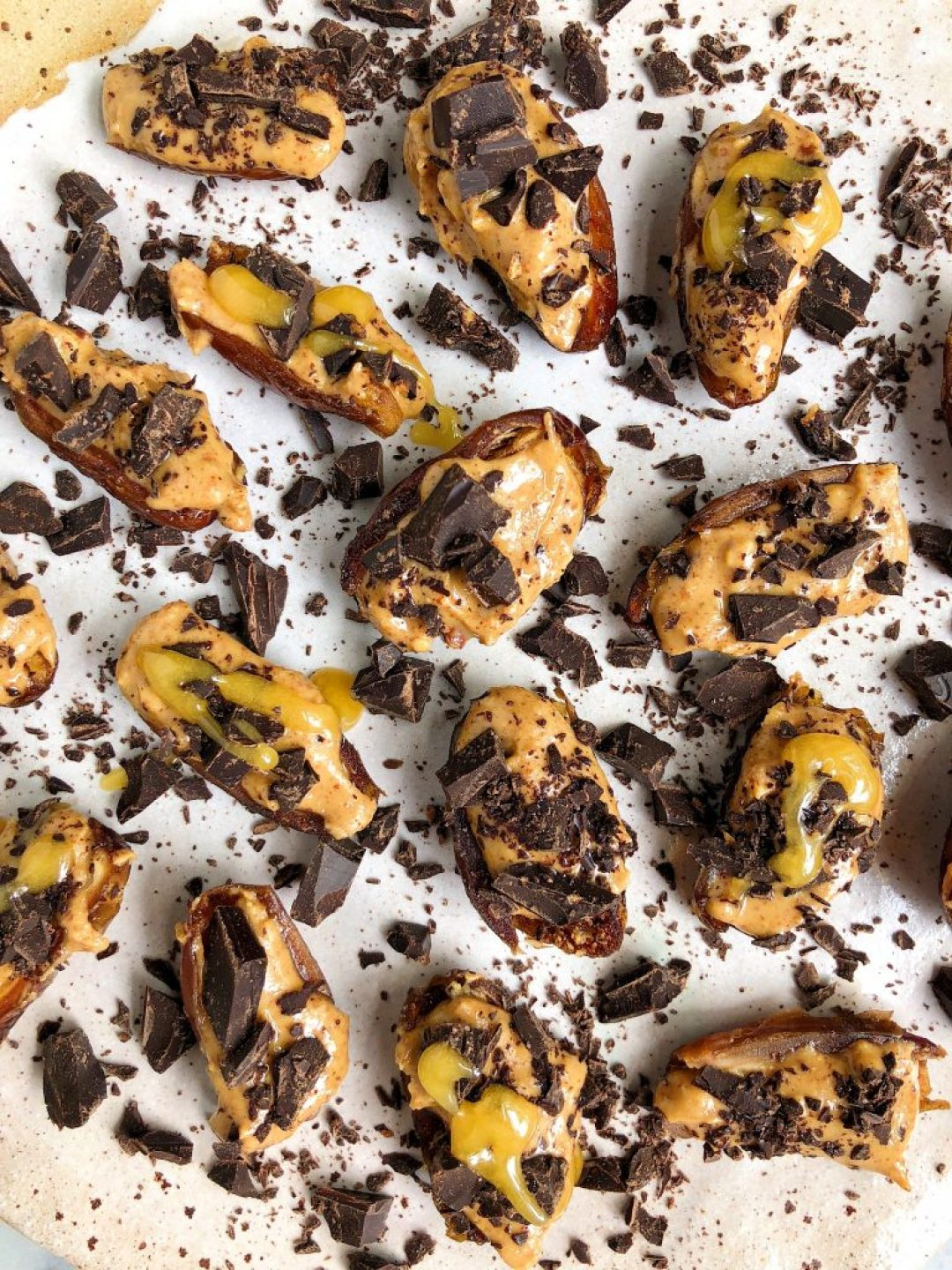 Sharing these Frozen Nut Butter Stuffed Dates that are gluten-free, dairy-free and even have protein in them! One of my favorite sweet snacks to keep on hand.